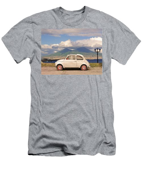 Fiat 500 Pizza Men's T-Shirt (Athletic Fit)