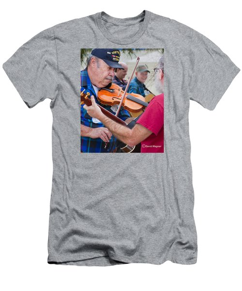 Fiddlers Contest Men's T-Shirt (Athletic Fit)