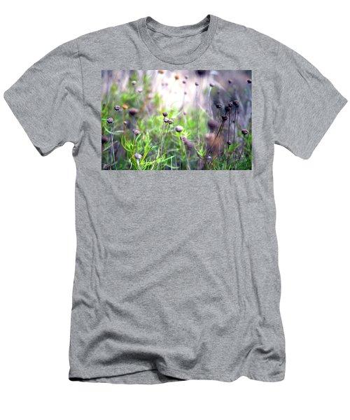 Field Flowers Men's T-Shirt (Athletic Fit)