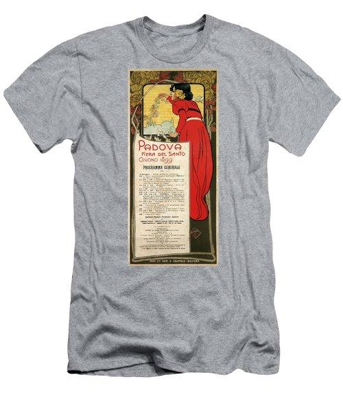 Fiera Del Santo 1899, Padova, Italy - Fair Of The Saint - Retro Travel Poster - Vintage Poster Men's T-Shirt (Athletic Fit)