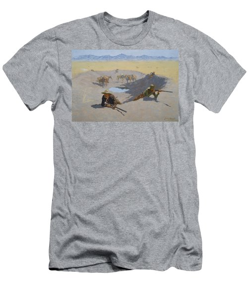 Fight For The Waterhole Men's T-Shirt (Athletic Fit)