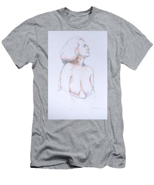 Figure Study Profile 1 Men's T-Shirt (Athletic Fit)