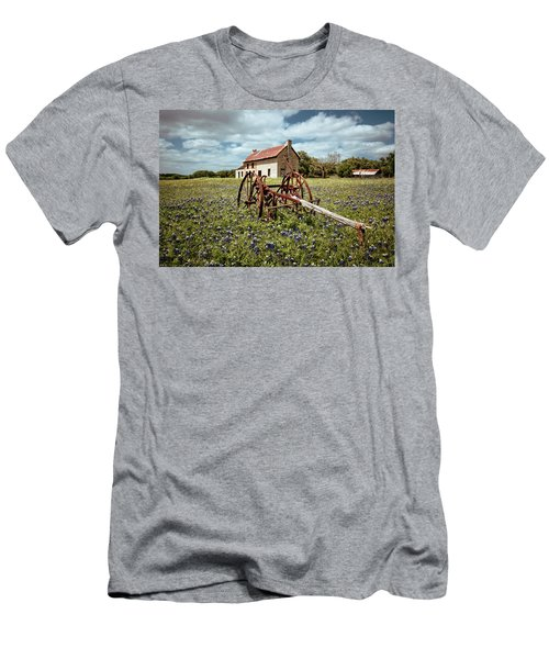 Men's T-Shirt (Slim Fit) featuring the photograph Final Resting Place by Linda Unger