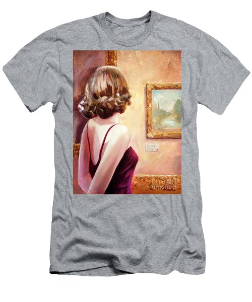 Fine Art Gallery Opening Night Men's T-Shirt (Athletic Fit)