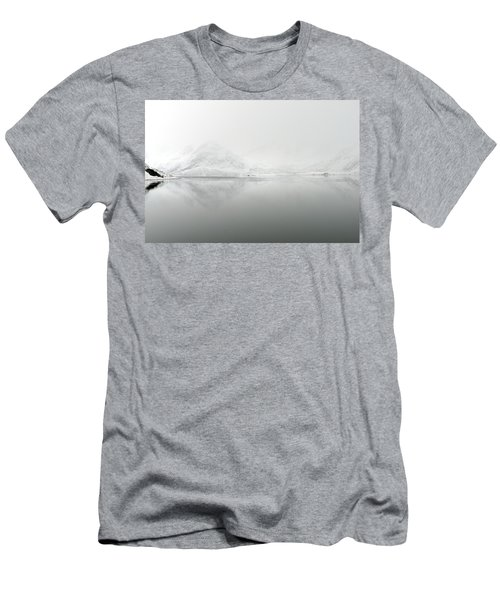 Fine Art Landscape 2 Men's T-Shirt (Slim Fit) by Dubi Roman