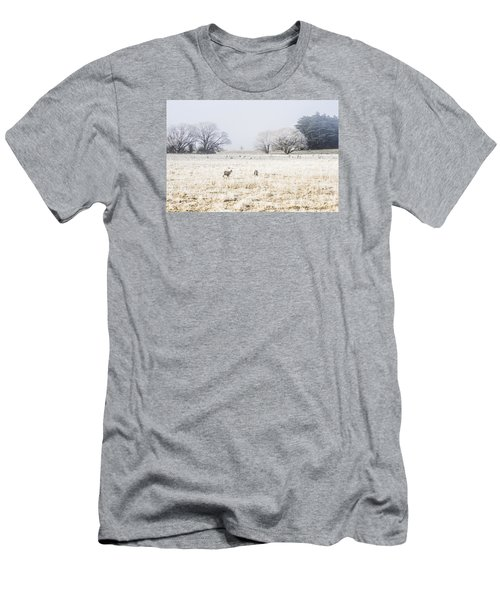 Fingal Winter Farmyard Men's T-Shirt (Athletic Fit)