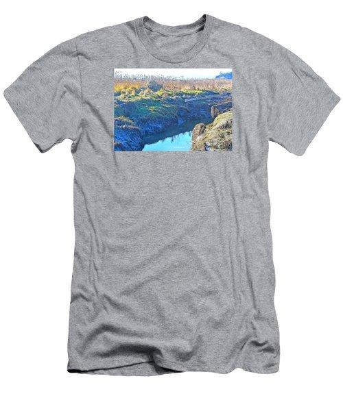 Fir Island November Men's T-Shirt (Slim Fit) by Tobeimean Peter