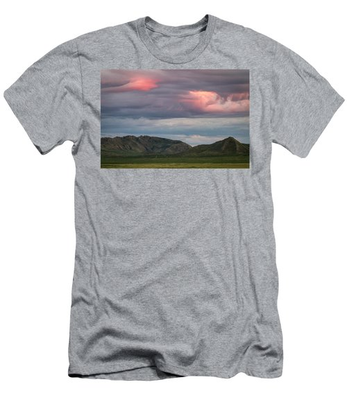 Glow In Clouds Men's T-Shirt (Slim Fit)