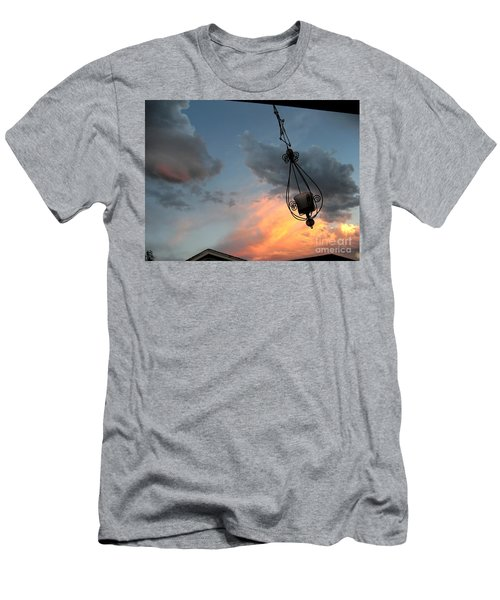 Fire In The Clouds Men's T-Shirt (Athletic Fit)