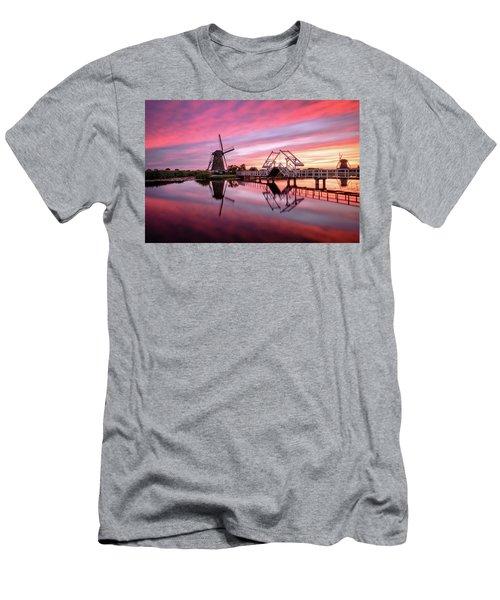 Fired Sky Kinderdijk Men's T-Shirt (Athletic Fit)