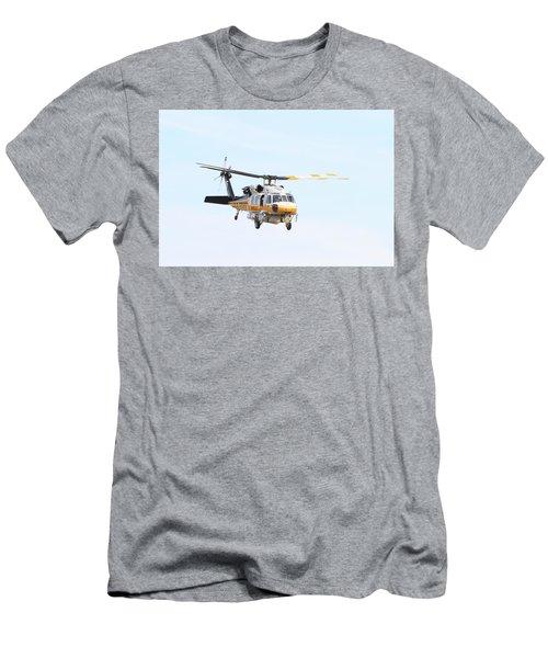 Firehawk In Flight Men's T-Shirt (Slim Fit) by Shoal Hollingsworth