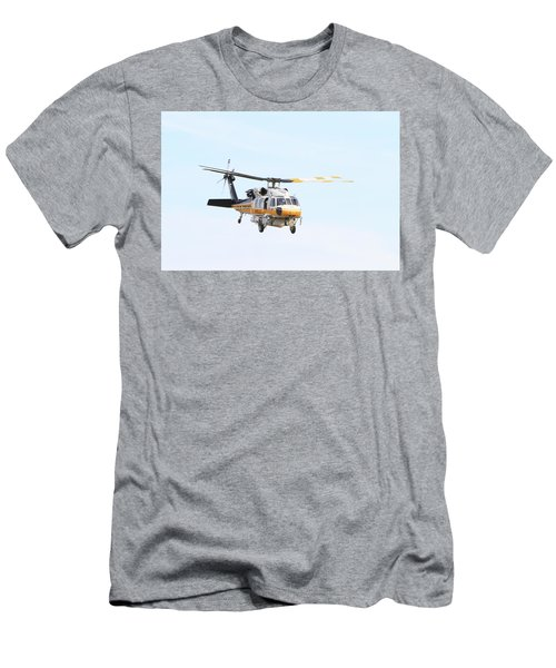 Firehawk In Flight Men's T-Shirt (Athletic Fit)