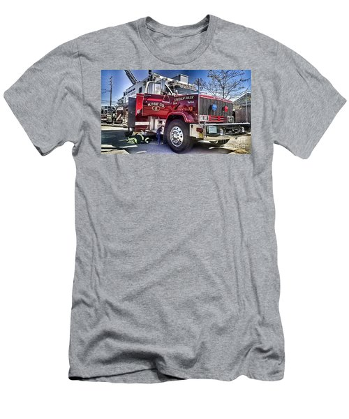 Firemen Honor And Sacrifice #2 Men's T-Shirt (Athletic Fit)