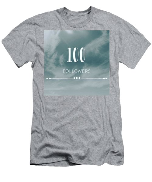 First 100 Followers  Men's T-Shirt (Athletic Fit)