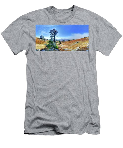 First Light Snow Men's T-Shirt (Slim Fit) by George Randy Bass