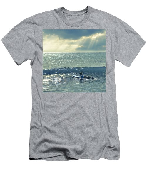 First Of The Day Men's T-Shirt (Athletic Fit)