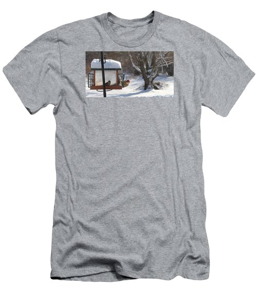 First Snow Diners Men's T-Shirt (Athletic Fit)