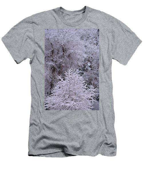 Men's T-Shirt (Athletic Fit) featuring the photograph First Snow I by Ron Cline