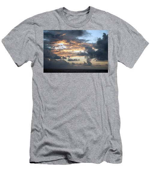 First Sunrise  Men's T-Shirt (Slim Fit) by Allen Carroll