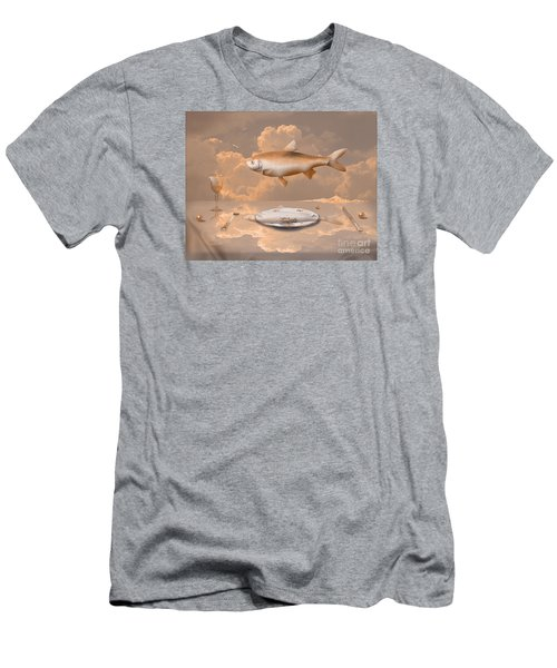 Fish Diner Men's T-Shirt (Athletic Fit)