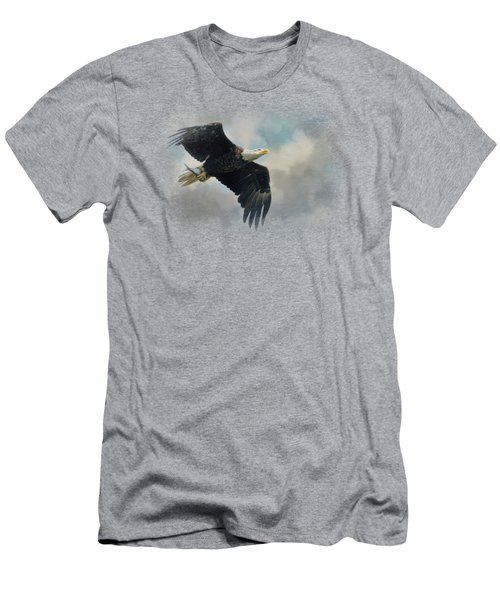 Fish In The Talons Men's T-Shirt (Slim Fit) by Jai Johnson