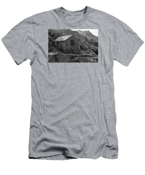 Fishermans Net Shed Men's T-Shirt (Slim Fit) by Brian Roscorla