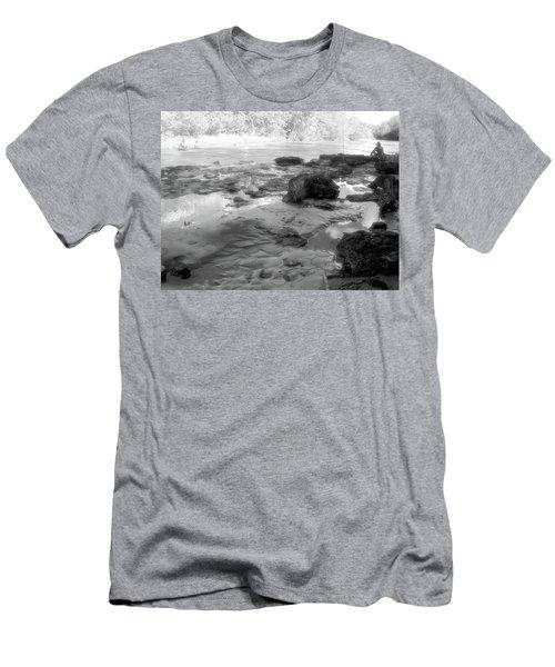 Fishermen Men's T-Shirt (Slim Fit) by Beto Machado