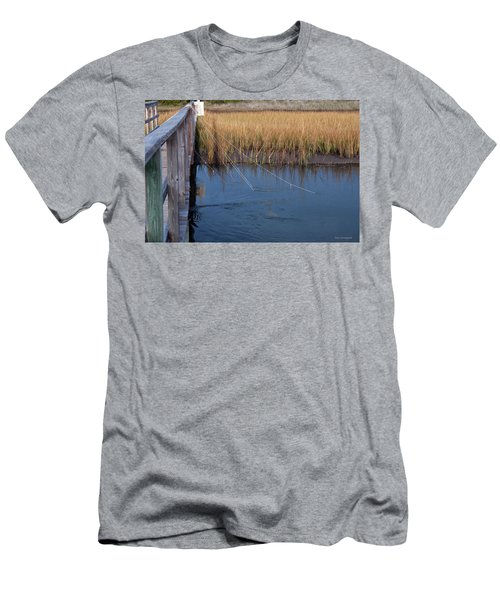 Fishin' Lines Men's T-Shirt (Athletic Fit)