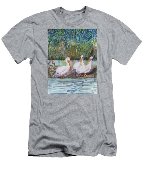 Fishing Around Men's T-Shirt (Athletic Fit)