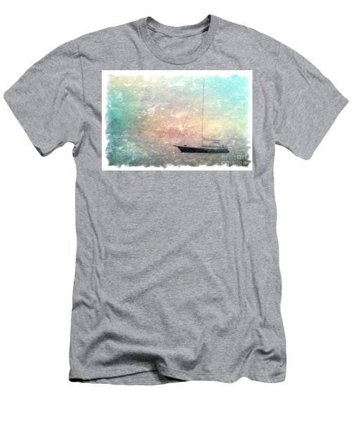 Fishing Boat In The Morning Men's T-Shirt (Athletic Fit)