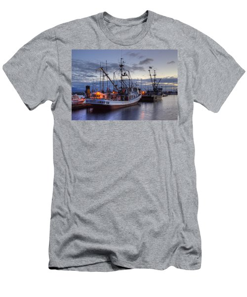 Fishing Fleet Men's T-Shirt (Athletic Fit)