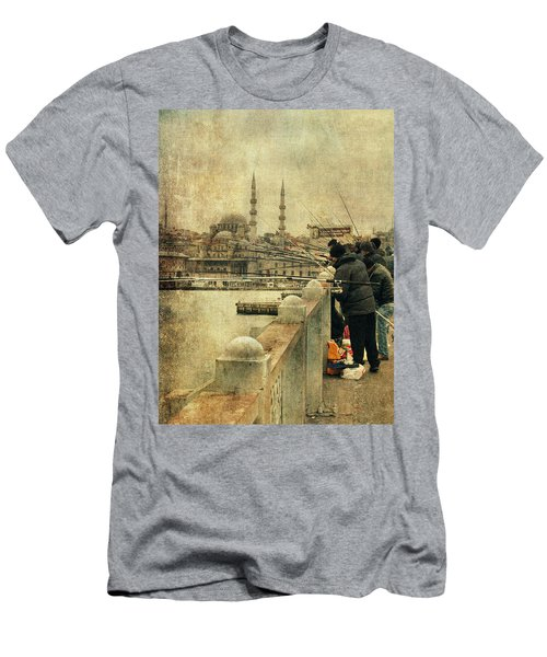 Fishing On The Bosphorus Men's T-Shirt (Athletic Fit)