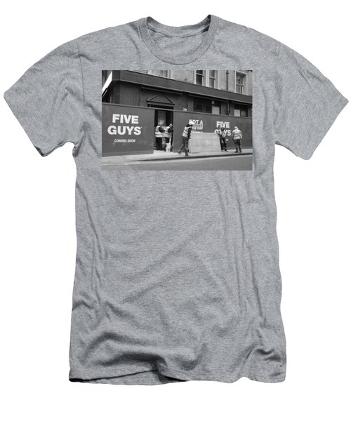 Five Guys Men's T-Shirt (Athletic Fit)