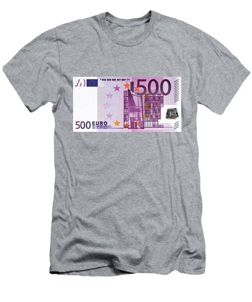 Five Hundred Euro Bill Men's T-Shirt (Athletic Fit)