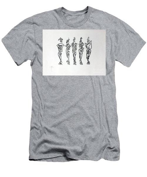 Five Muses Men's T-Shirt (Athletic Fit)