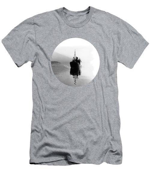 Fjord Ship Men's T-Shirt (Athletic Fit)