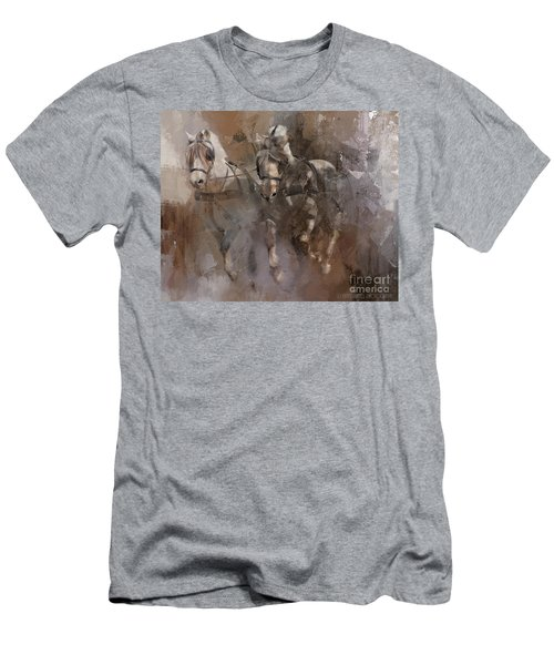 Fjords On The Run Men's T-Shirt (Slim Fit) by Kathy Russell
