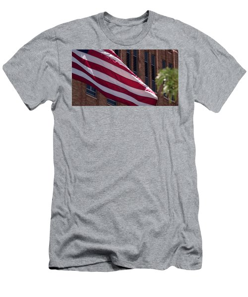 Flag Courtship Men's T-Shirt (Athletic Fit)