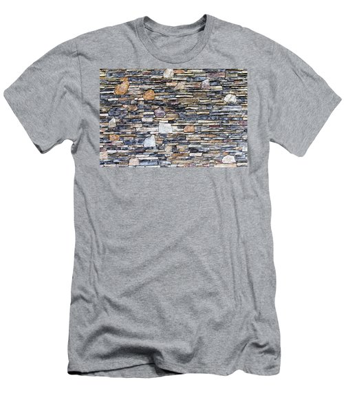 Flagstone Wall Men's T-Shirt (Athletic Fit)
