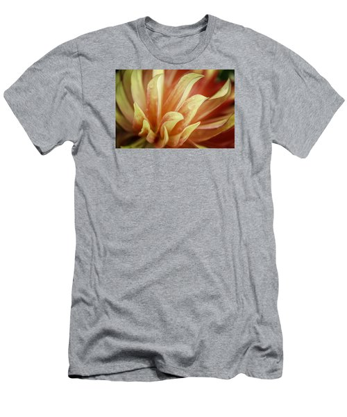 Flaming Dahlia Men's T-Shirt (Athletic Fit)