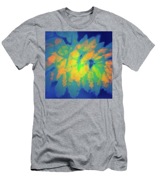 Men's T-Shirt (Slim Fit) featuring the photograph Flaming Foliage 2 by Ari Salmela