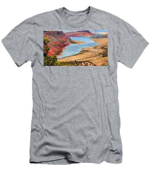 Flaming Gorge Men's T-Shirt (Athletic Fit)