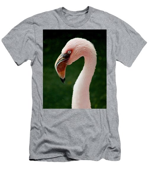 Flamingo Men's T-Shirt (Athletic Fit)