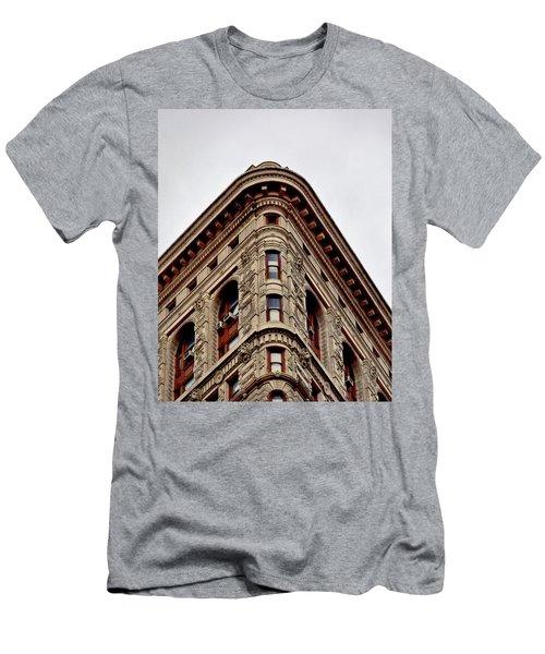 Flatiron Building Detail Men's T-Shirt (Athletic Fit)