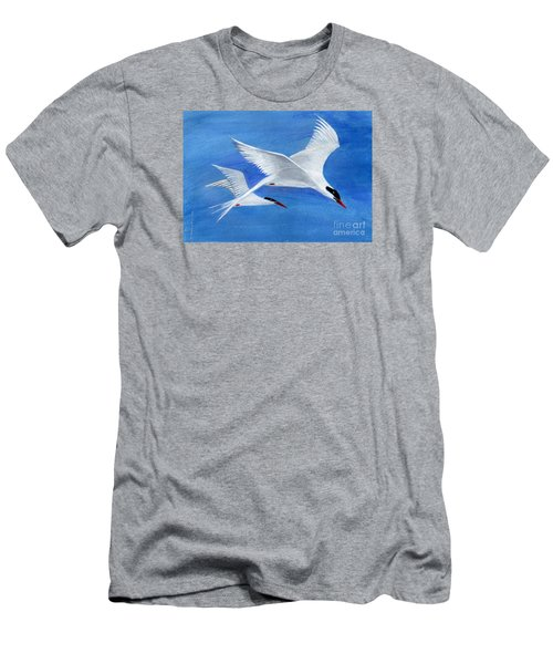 Flight - Painting Men's T-Shirt (Slim Fit) by Veronica Rickard