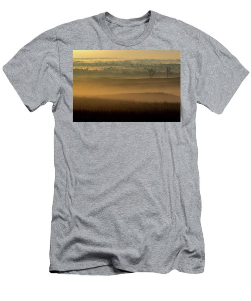 Flint Hills Sunrise Men's T-Shirt (Athletic Fit)