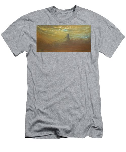 Float On Men's T-Shirt (Slim Fit) by Jane See