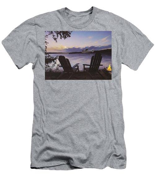 Float Plane Men's T-Shirt (Athletic Fit)