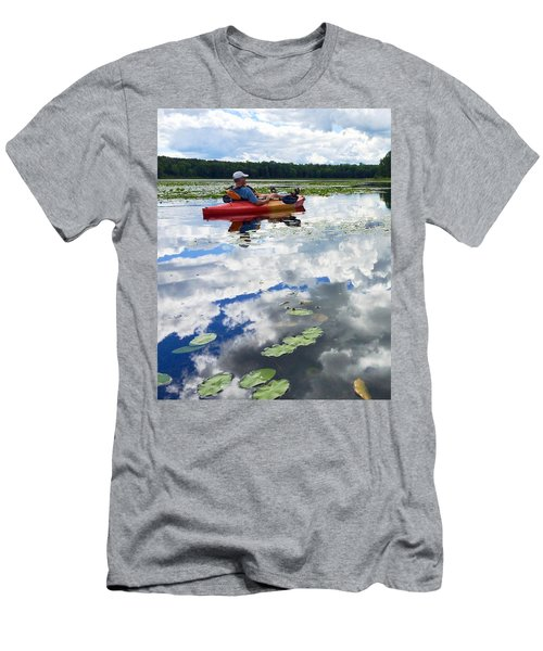 Floating In The Sky Men's T-Shirt (Athletic Fit)