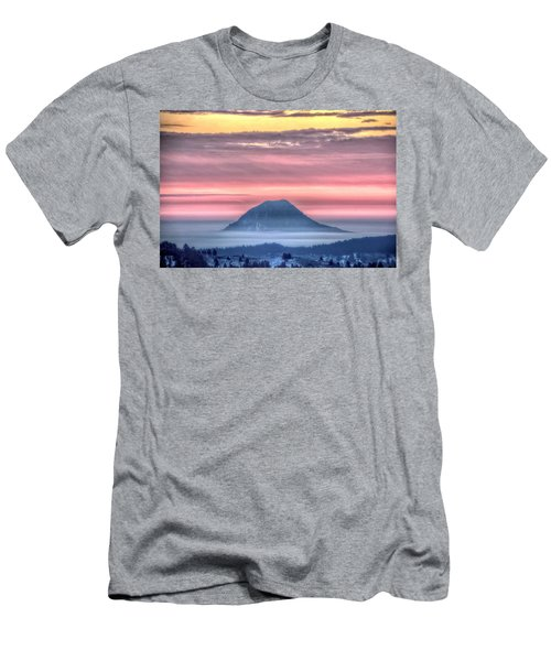 Floating Mountain Men's T-Shirt (Athletic Fit)